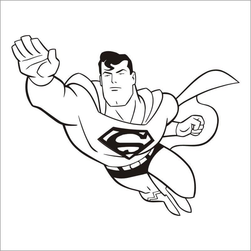 Dibujos de Superman para Colorear, Pintar e Imprimir Gratis ...