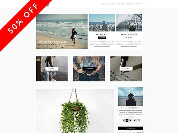 Andria / WordPress Theme / WordPress Blog / WordPress Template ...