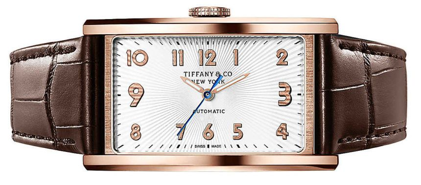 "Tiffany & Co. East West Automatic 3-Hand Watch - by Jack Wagner - See what's changed under the hood at: aBlogtoWatch.com - ""Updated with a new case size and movement, the recently released Tiffany & Co. East West Automatic 3-Hand is a much welcome addition to the company's East West line of watches. It takes the best aspects of the previous models, such as the unique rotated dial layout, high quality materials, precision construction, and a handsome design..."""