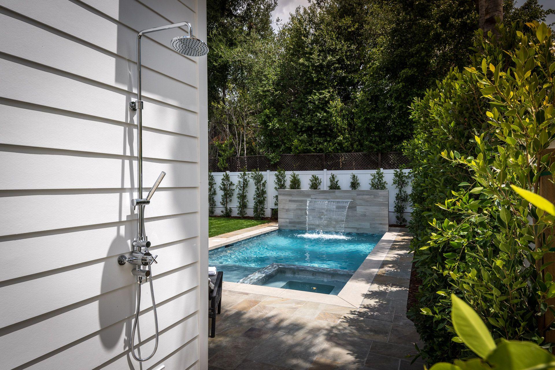 outdoor shower 4054 beck avenue studio city ca 91604 pinterest