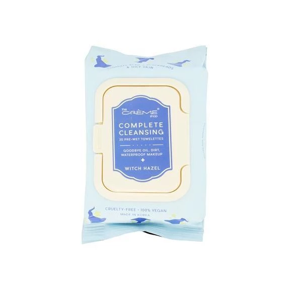 Complete Cleansing Witch Hazel PreWet Towelettes The