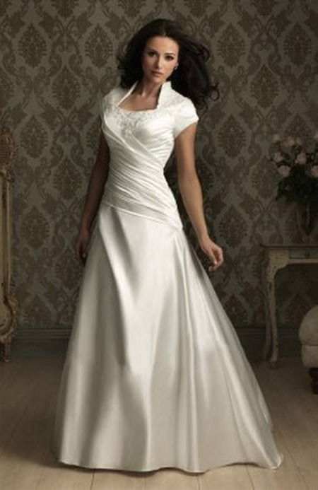 Awesome Lds bridal gowns 2018-2019 Check more at http ...