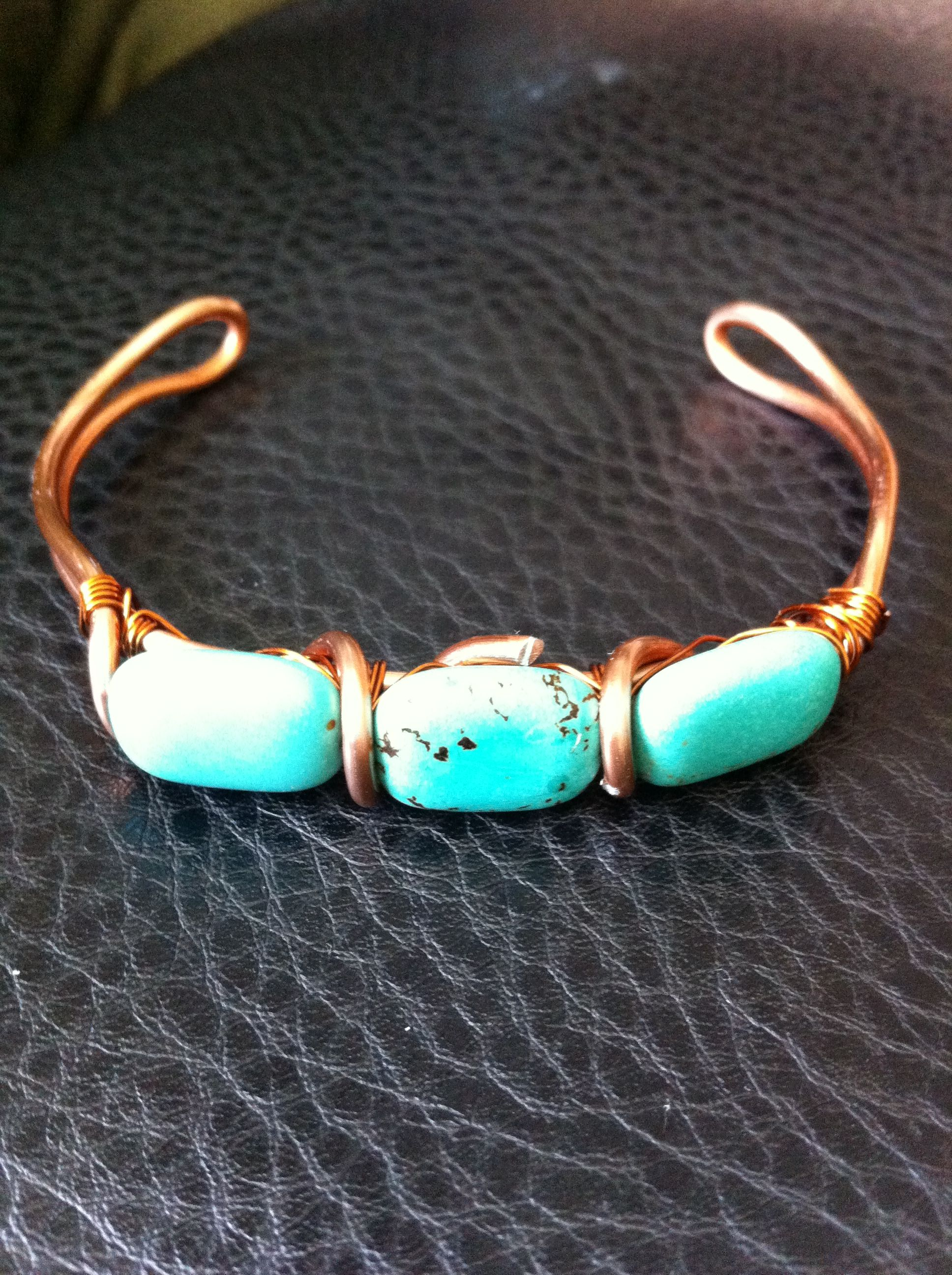 Real turquoise and copper | Jenny Ashley Designs (My Work ...
