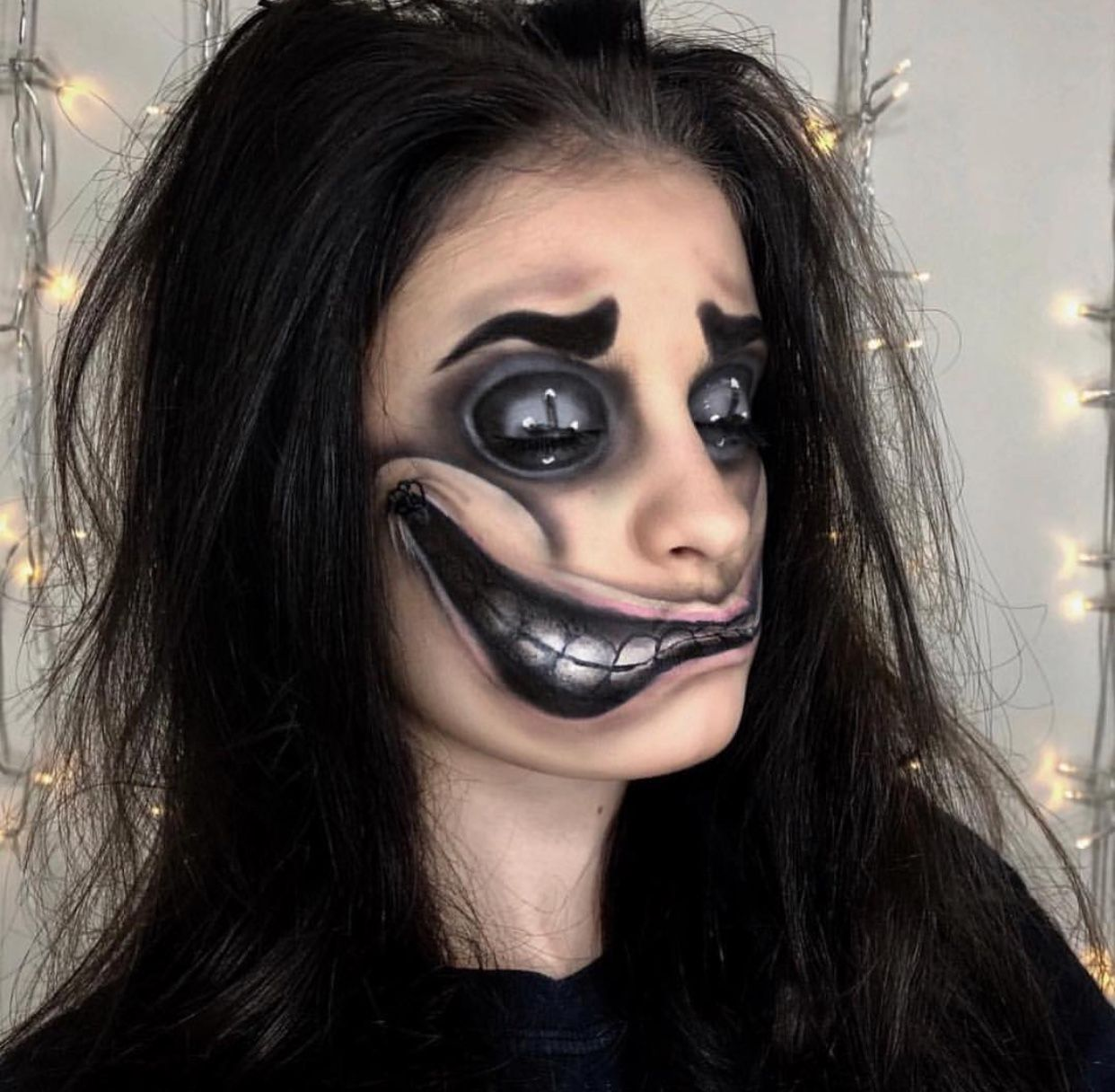 Pin By Gingeravenger85 On Halloween Makeup Horror Makeup Halloween Makeup Easy Theatrical Makeup