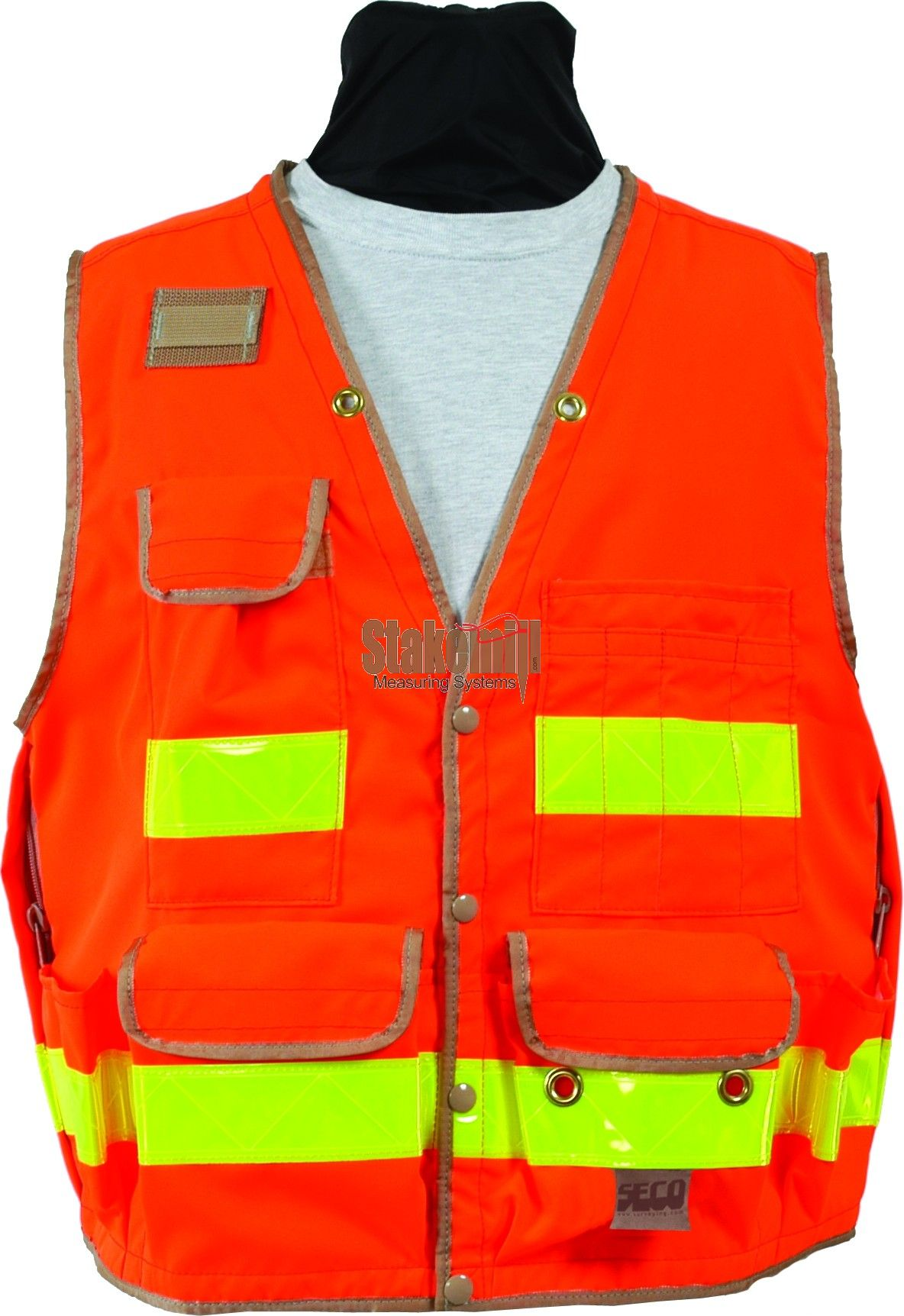 SECO 8068 Series Surveyors Vest Class II Fluorescent