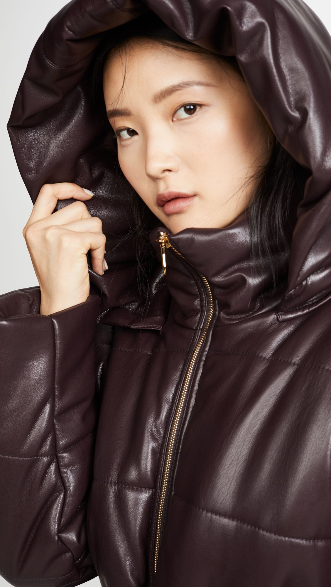 Nanushka Lenox Puffer Jacket With Belt Shopbop Puffer Jackets Nanushka Trendy Overalls [ 2000 x 1128 Pixel ]