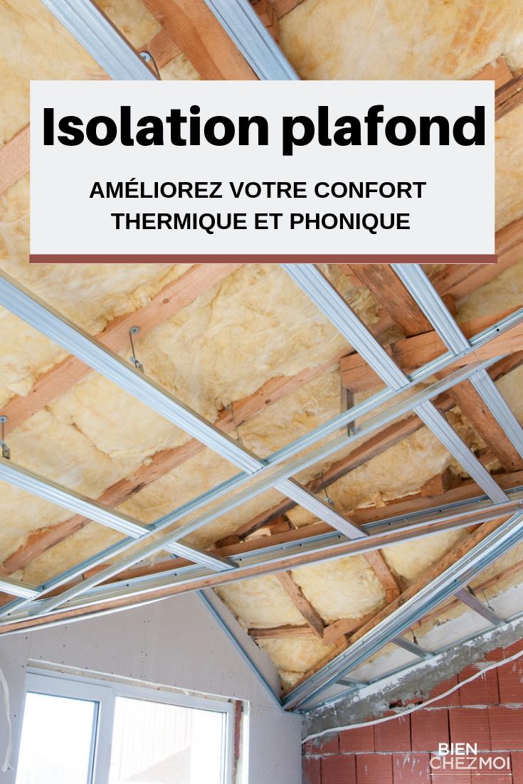 Comment Isoler Un Plafond Contre Le Bruit Épinglé par mayfly sur energies en 2020 | isolation plafond