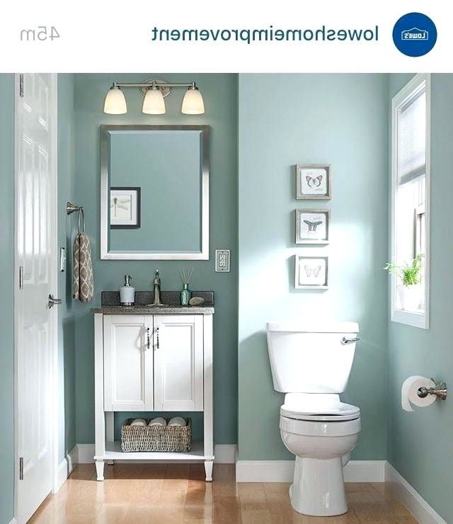 What Color To Paint Bathroom Small Bathroom Paint Color Ideas Tiny Bathroom Colors First And F Small Bathroom Paint Bathroom Paint Colors Bathroom Design Small