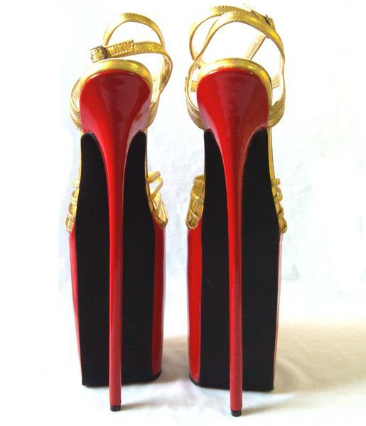 9c6aa25db9cc 12inch High Heels Sexy Shoes Genuine Leather Stiletto Heel Sandals Party  Shoes More Colors available NO.y3004r