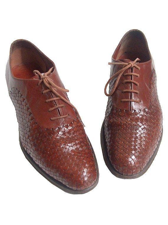 94793ef4b1f STEPHANE KELIAN PARIS woven leather oxford shoes us7.5 fr39 uk5.5