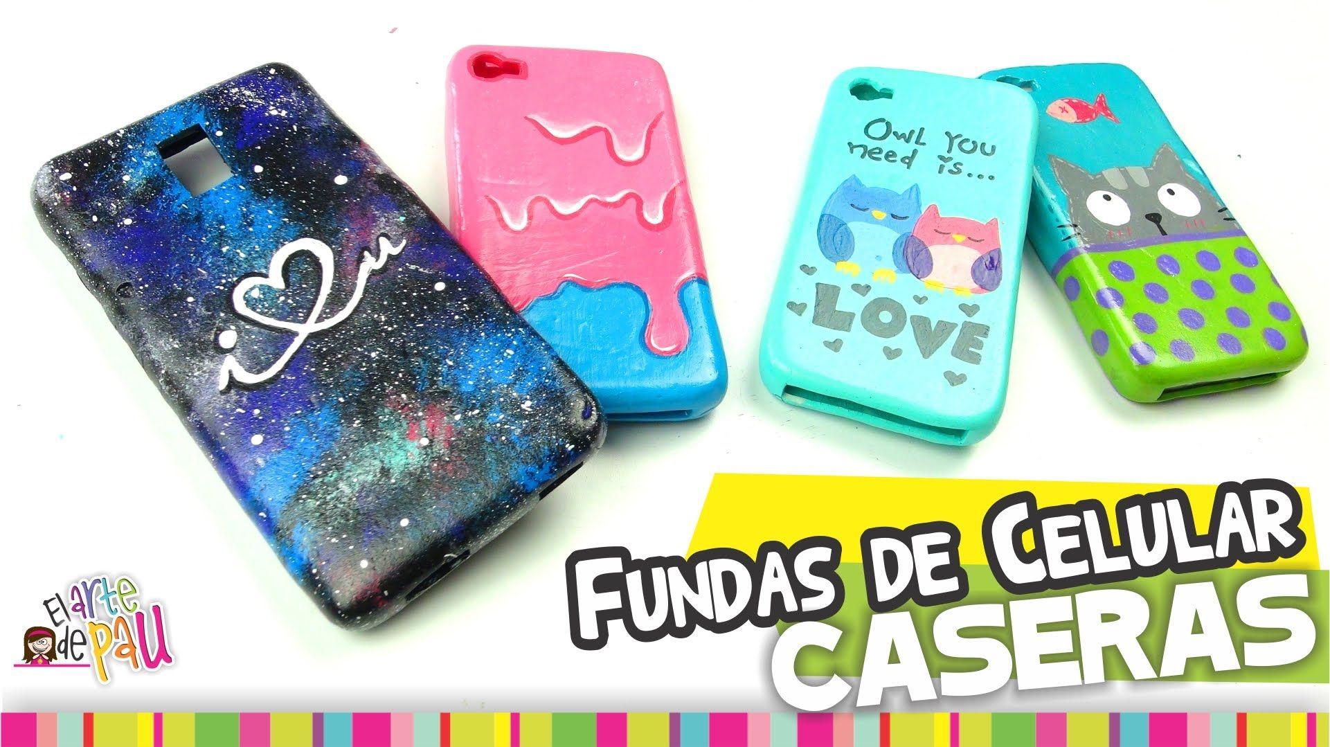MEDIO✓ Fundas para Celular CASERAS / Homemade cellphone case | Fundas para  celular, Fundas, Manualidades para celular