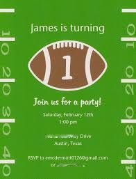 free football birthday invitation templates google search
