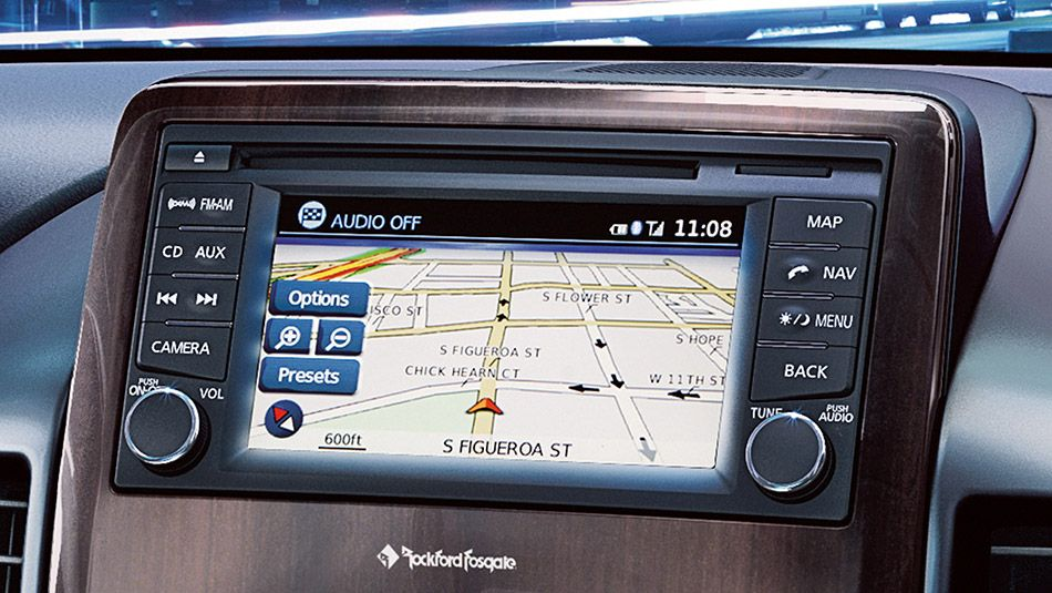 NissanConnect™ with Navigation including 5.8inch color