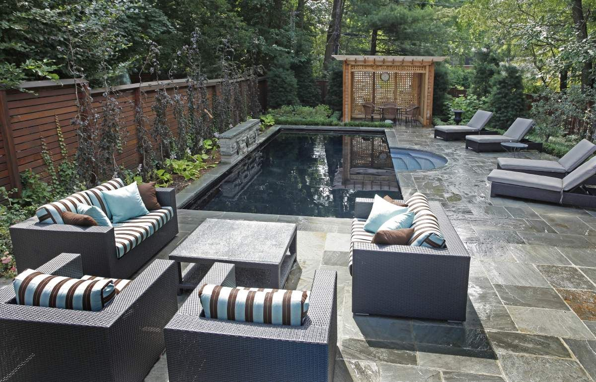small vinyl pools betz pools small backyard design on beautiful inground pool ideas why people choose bedrock inground pool id=44330