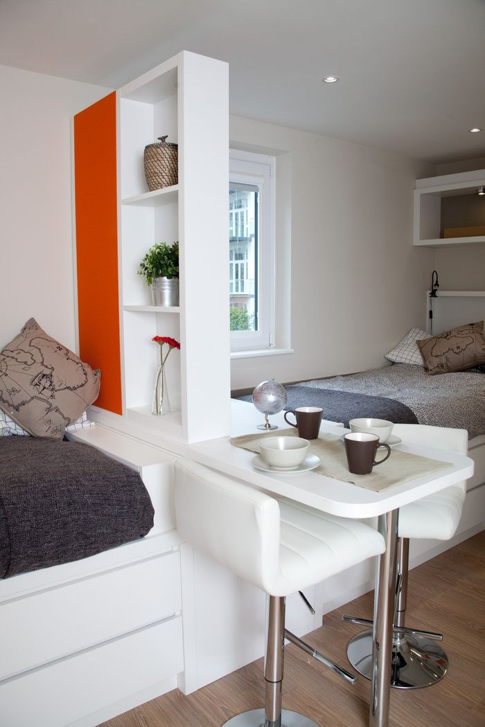 Student Accommodation - London Studio Windsor (Twin) | Living Spaces ...