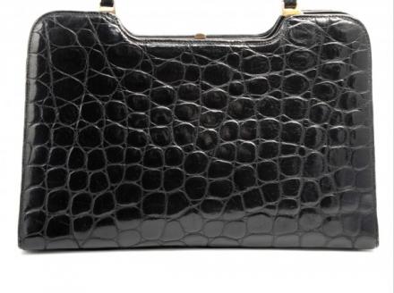 1970s Elegant Briefcase Style Handbag