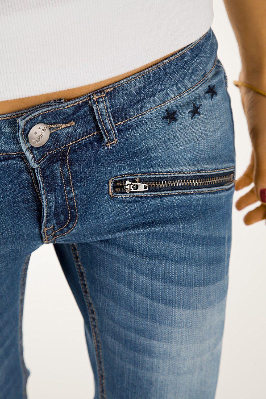 Bestyledberlin Pantaloni Jeans donna, Jeans skinny j03i: Amazon.it…