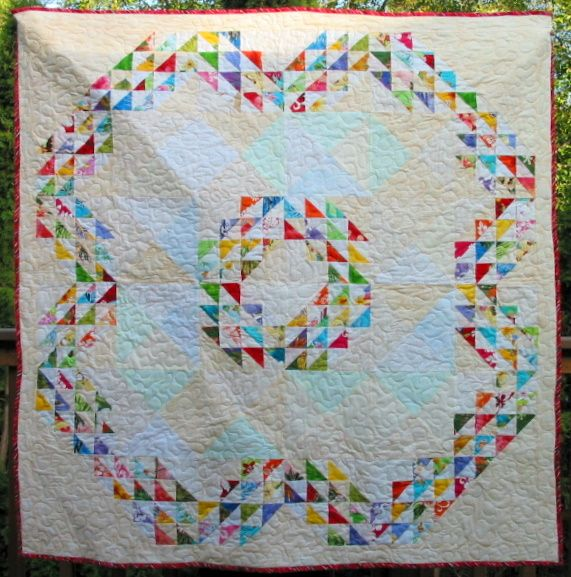 Free Pattern For Baby Quilts To Download Hawaiian Waves For