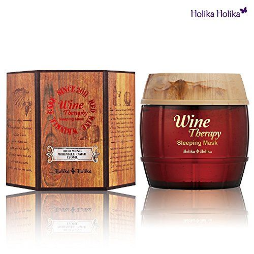 Holika Holika Wine Therapy Sleeping Mask #Red wine