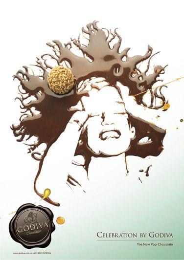 Godiva Chocolatier Posters By Jonas Carlberg Via Behance Poster Godiva Chocolatier Creative Advertising
