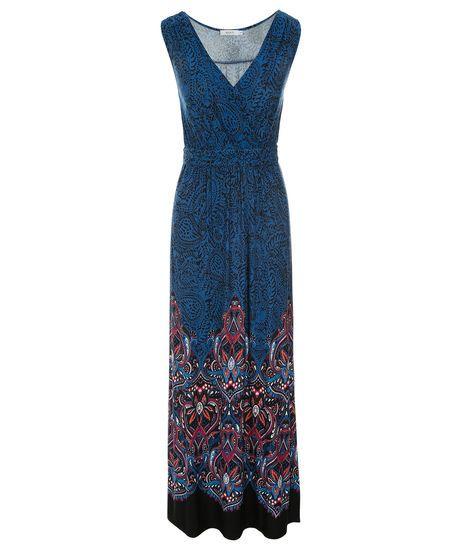 Paisley Print Maxi Dress | Rickis