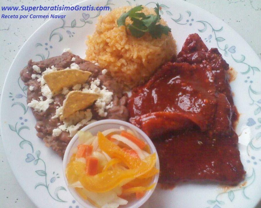 Recetas Comidas Con Bistec De Puerco Recetas Bistec De Lomo De Puerco En Chileajo Recetas De Comida