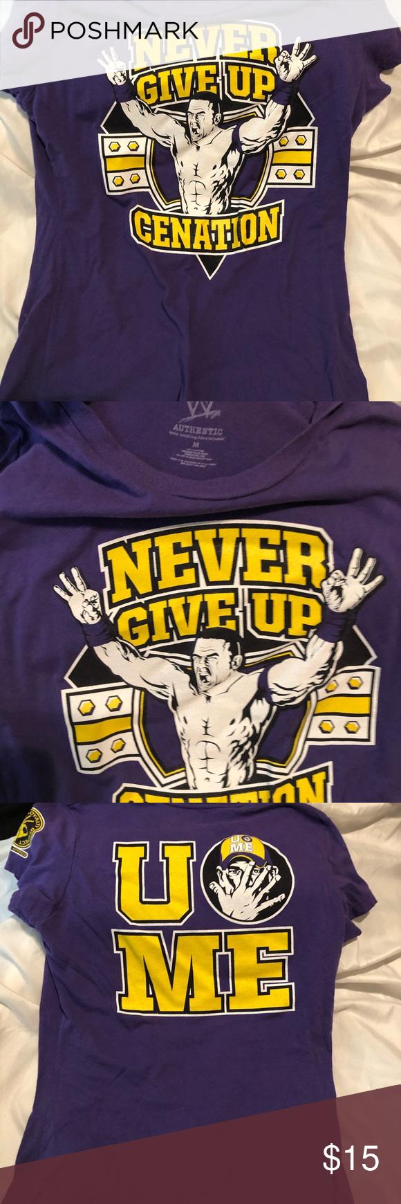 WWE John Cena John cena, Wwe, Never give up