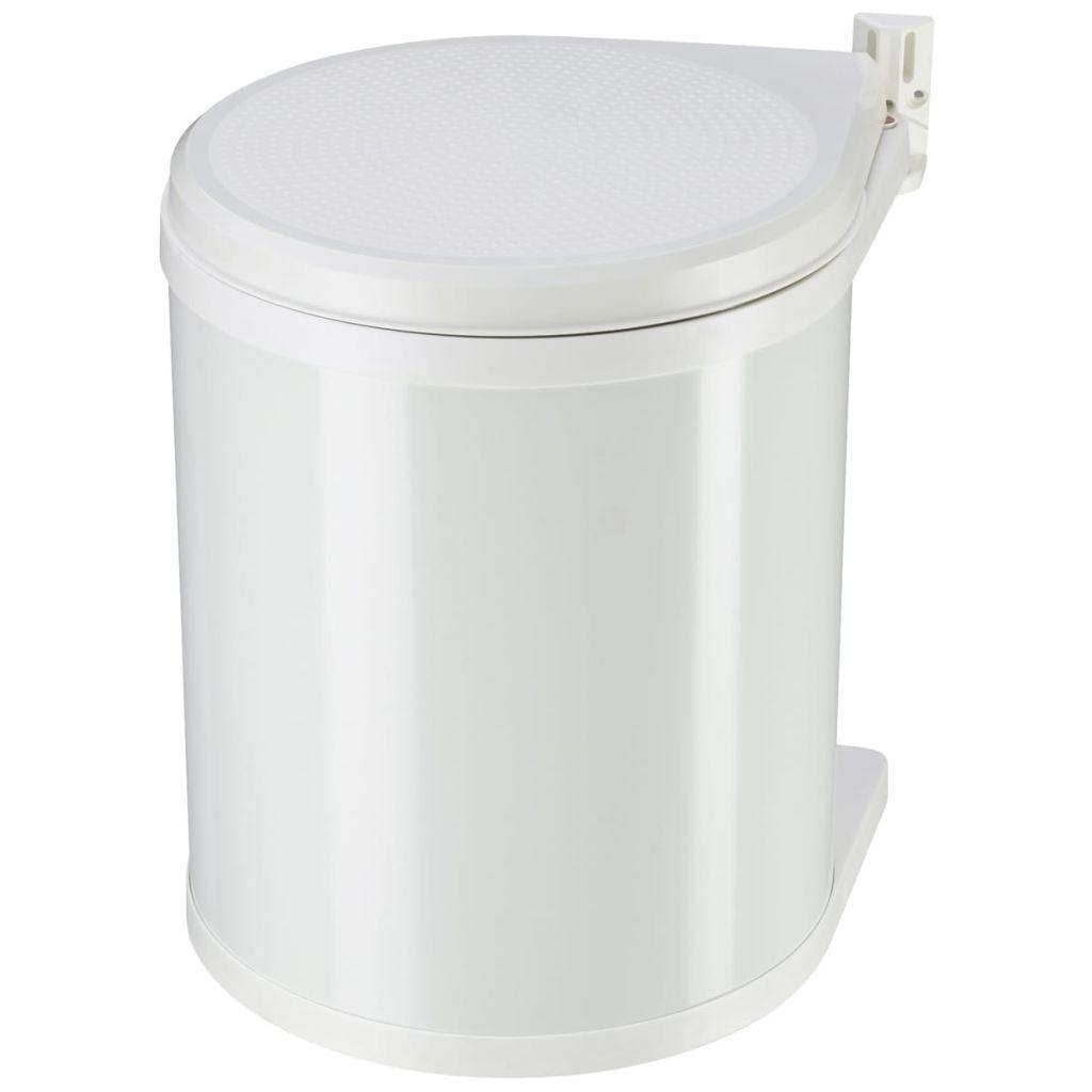 Hailo Compact-Box size M white cupboard trash 15 L