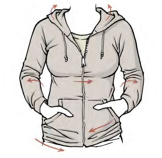 Belongs To Mark Crilley From Mastering Manga 1 Drawing Clothes How To Draw Hoodies Hoodie Drawing