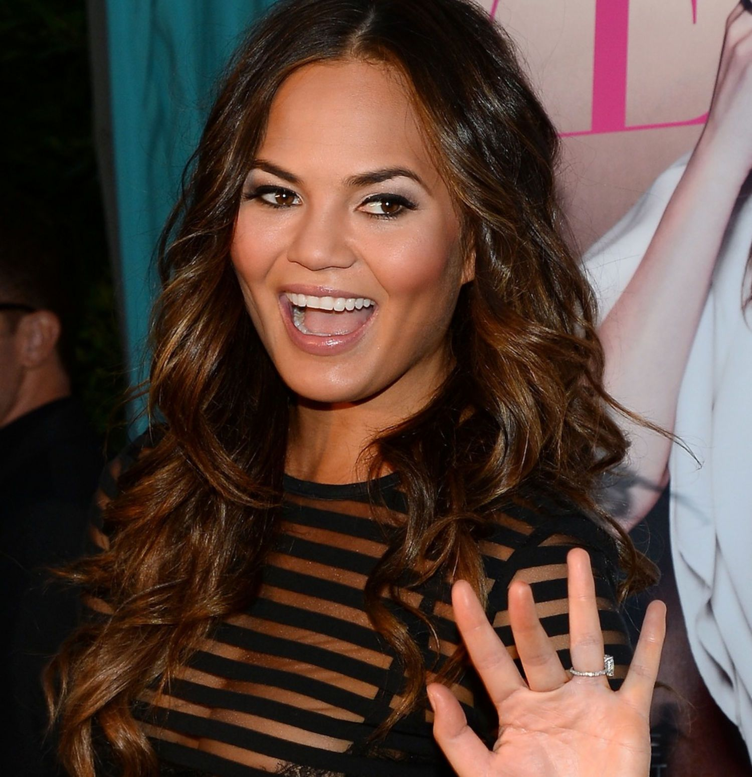 teigen women Chrissy-teigen-sports-illustrated-swimsuit-2017-3 less than a year after giving birth to her daughter, luna, chrissy teigen posed nearly naked for 'sports.