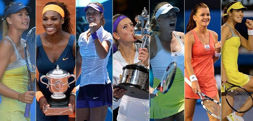 WTA · Total incl prize money, endorsements, appearance fees earned June 2012-June 2013...Forbes' highest-paid female athletes list: Maria Sharapova-$29MIL, Prize$-$6.0MIL, up $1.9MIL; Serena Williams-$20.5MIL, Prize$-$8.5MIL, up $4.2MIL, Li Na-$18.2MIL, Prize$-$3.2MIL, down $200K; Vika Azarenka-$15.7MIL, Prize$-$6.7MIL, up $6MIL; Caro Wozniacki-$13.6MIL, Prize$-$2.6MIL, down $100K, Aga Radwanska-$7.4MIL, Prize$-$4.9MIL, up $100K, Ana Ivanovic-$7MIL, Prize$-1MIL, down $200K.--- #Cool…