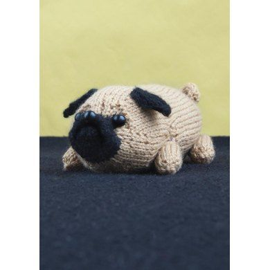 Jolly the Pug Knitting pattern by Louise Walker | Knitting ...
