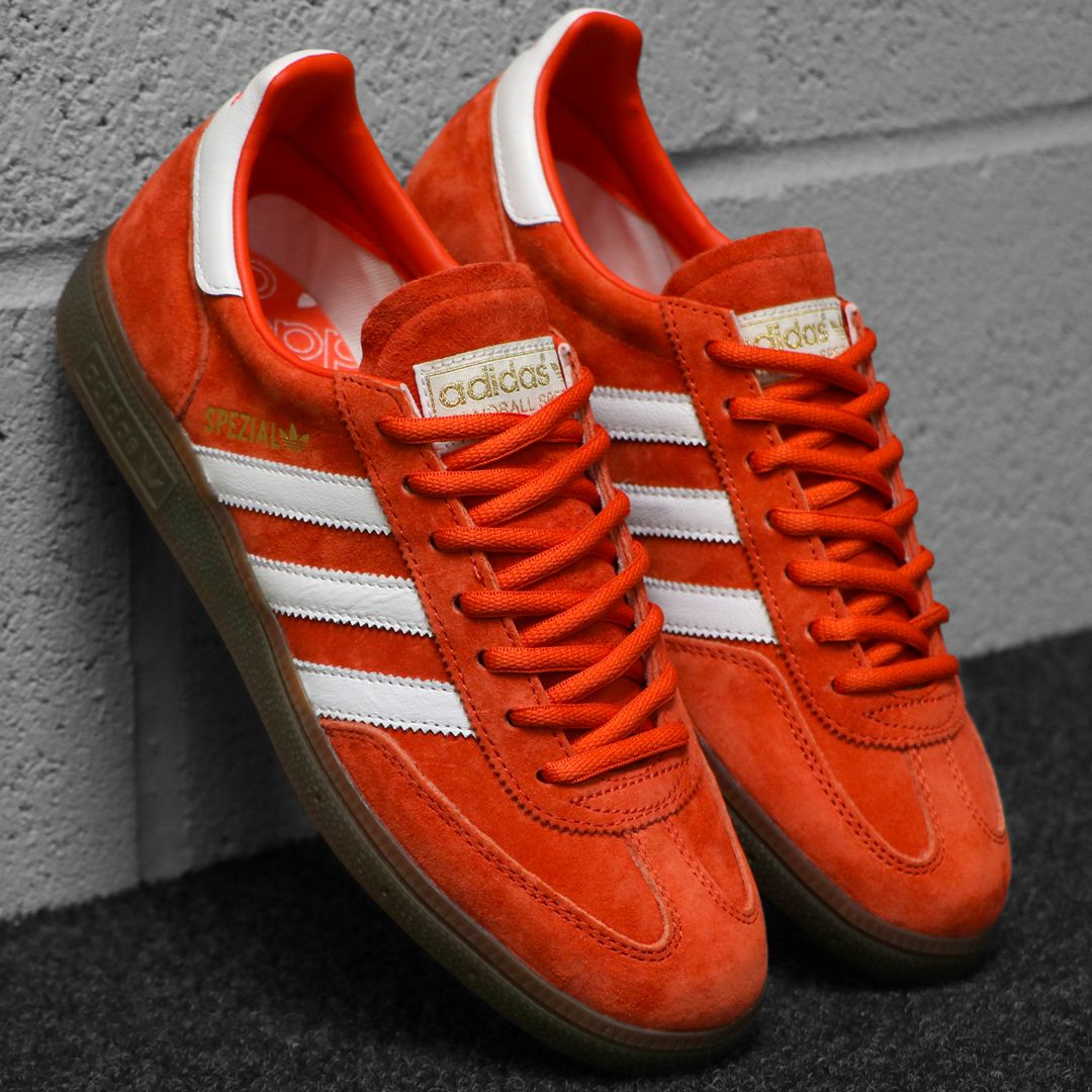 Adidas Spezial Trainers Red Amber/White