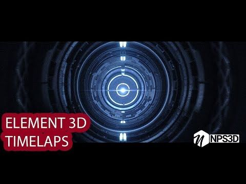 (2) AFTER EFFECTS|ELEMENT 3D RENDER |TIMELAPS BY NPS3D|YOUTUBE| - YouTube