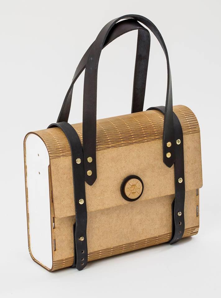 indalo wooden bags wooden bags canvas bags leather accessories leder pinterest. Black Bedroom Furniture Sets. Home Design Ideas