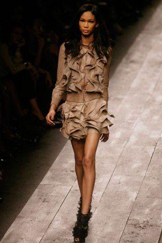 Valentino | leather dress