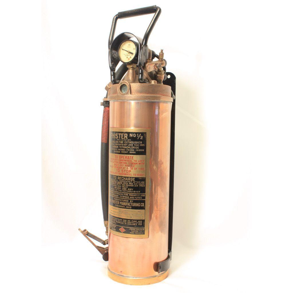 Phister Vintage Fire Extinguisher Fire Extinguisher Extinguisher Fire Equipment