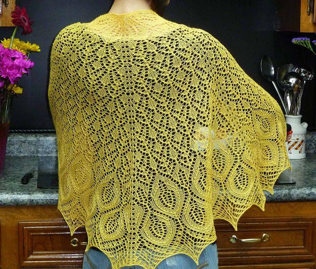 Rainier Shawl Pattern By Joyce Fassbender Shawl Ravelry And Lace