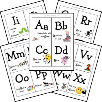 Free My Body Lapbook With Images Letter G Activities Alphabet