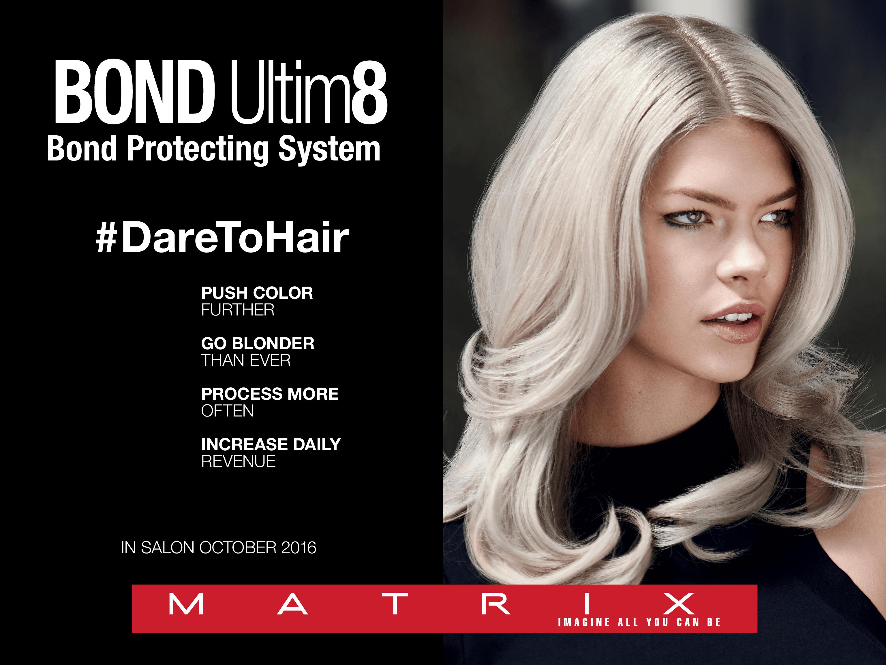 Matrix hair brush 4 - Introducing Bond Ultim8 Matrix Bond Ultim8