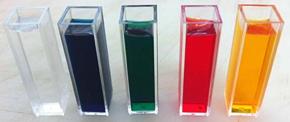 cuvette is a piece of laboratory glassware that is