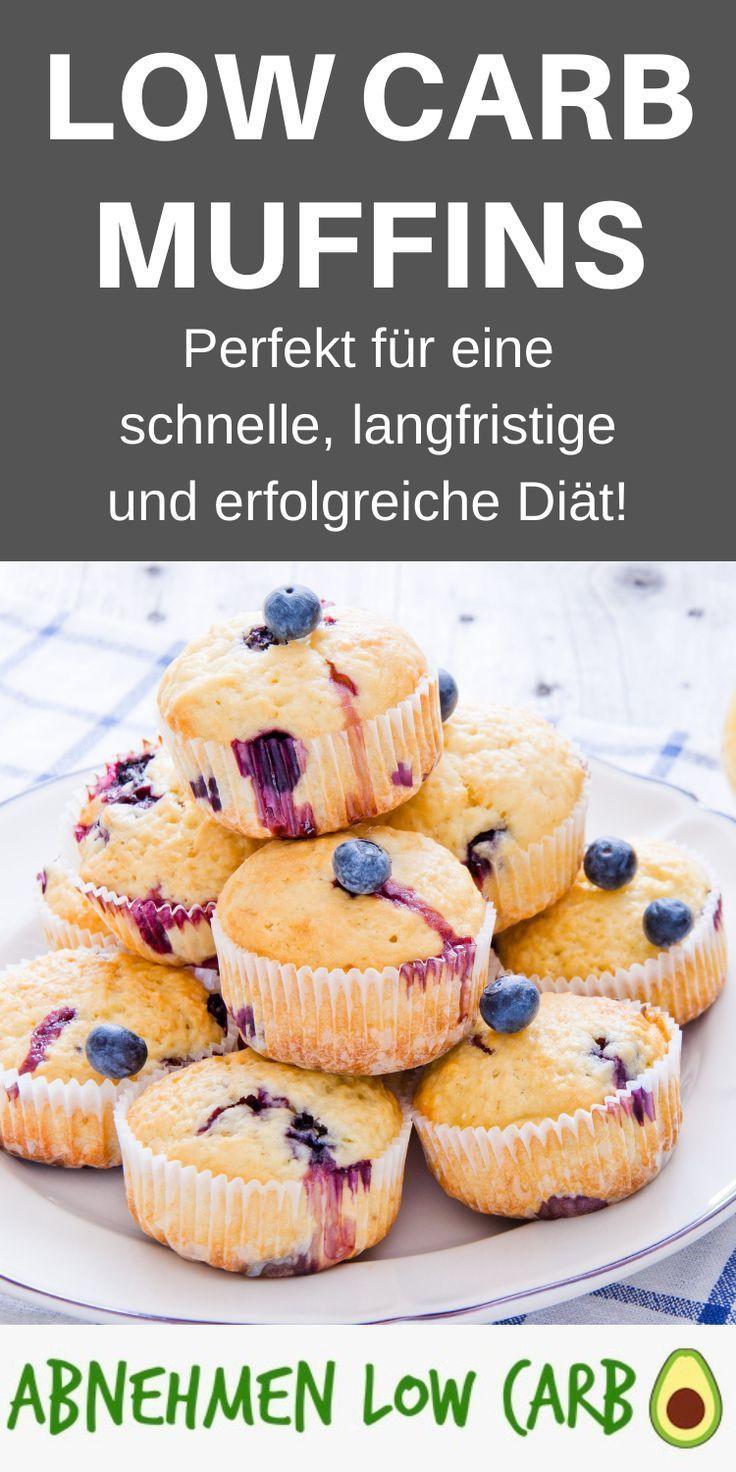 Schnelle Low Carb Muffins - fürs abnehmen - Abnehmen Low Carb