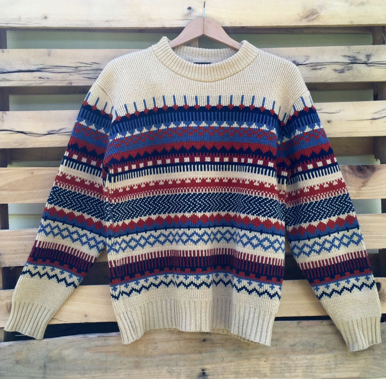 A personal favorite from my Etsy shop  https   www.etsy.com listing 457220198 vintage-70s-fair-isle-ski-lodge- sweater 543257d62