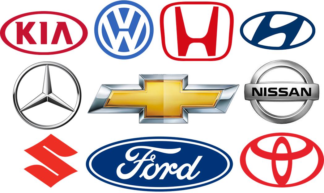 Car Logos (Chevy, Suzuki, KIA, Hyundai, MercedesBenz