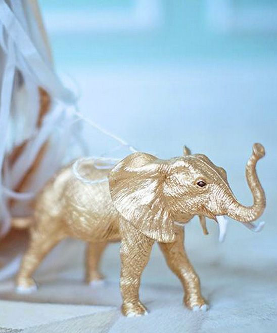 Gold Elephant Weight