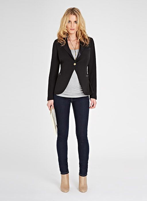 90e9e8010700c Isabella Oliver Ruby Tailored Maternity Jacket | Outfits ...