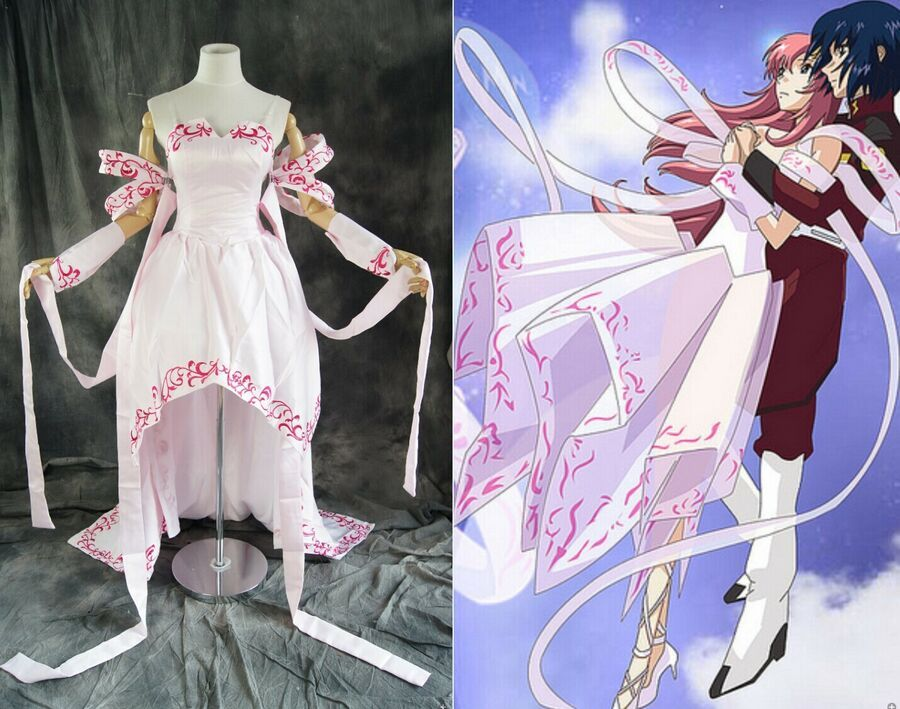 Details about H-502 gundam seed lacus clyne cosplay ...
