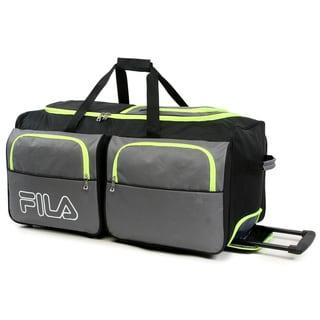 08ec7e5757 Fila 7-pocket 30-inch Large Rolling Duffel Bag (Black) in 2019 ...
