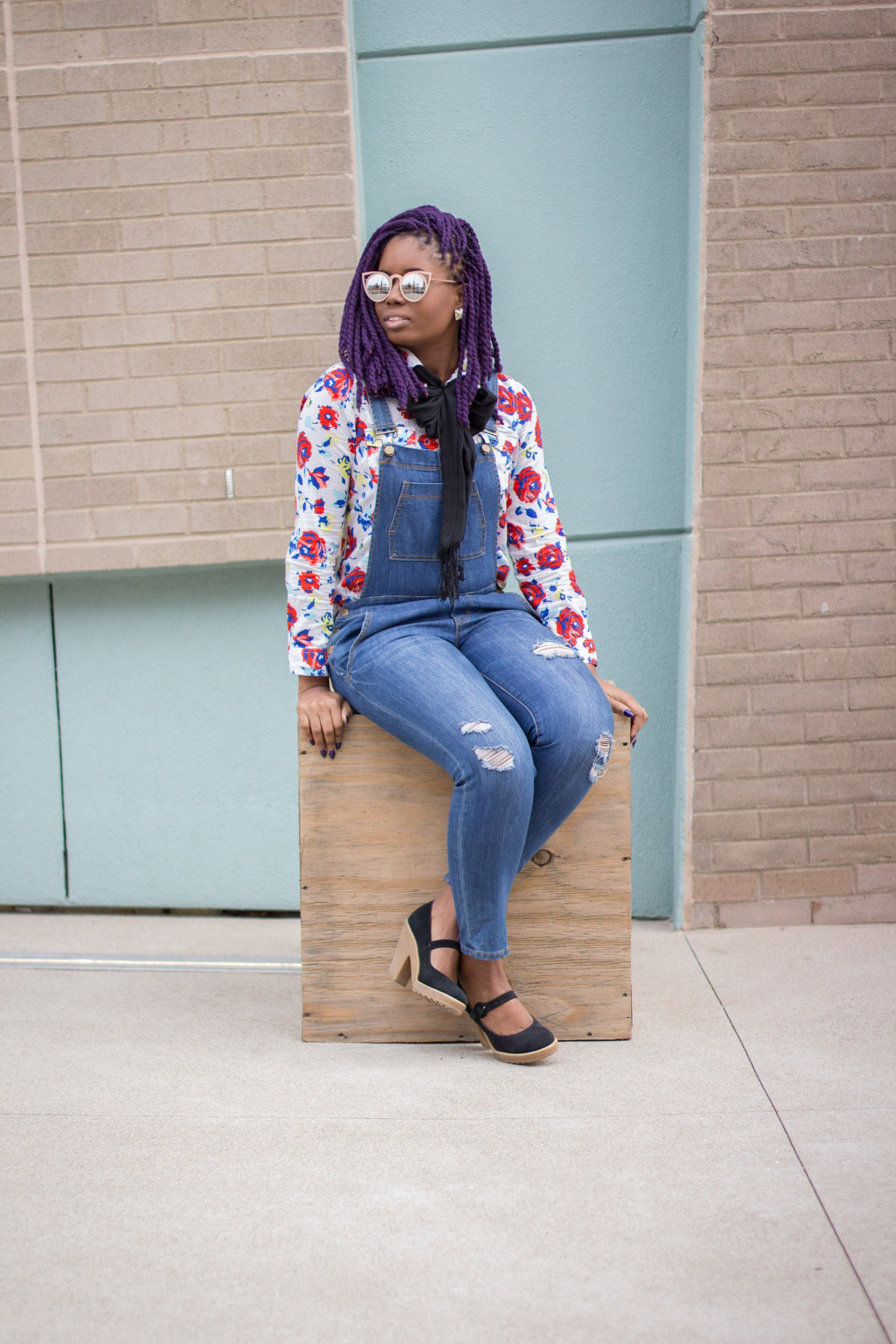 19b3334823 Bringing Back Overalls + 3 Simple Ways to Add A Little Fun To Your ...