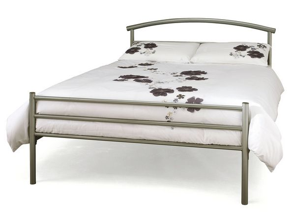 Serene Brennington 4ft Small Double Metal Bed Frame Double Beds In
